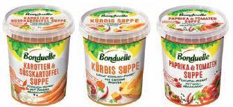 Suppen von Bonduelle