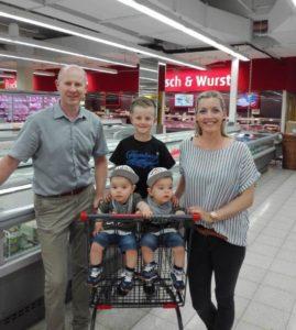 Zwillings-Einkaufswagen neu bei Markant in Hagenow