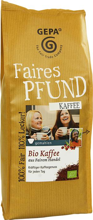 Gepa - Fair Trade Kaffee und Kakao